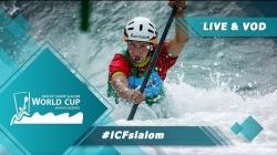 2019 ICF Canoe Slalom World Cup 4 Markkleeberg Germany / Semis – C1w, K1m