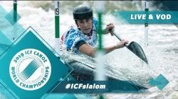 2019 ICF Canoe Slalom World Championships La Seu d'Urgell Spain / Slalom Heats Run 2 – C1m, K1w