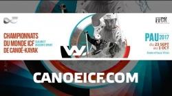 #ICFslalom 2017 Canoe World Championships Pau France - Sat Slalom FINALS