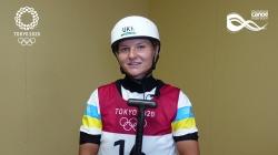 Viktoriia Us, Ukraine, on her experience at Tokyo 2020 Olympics