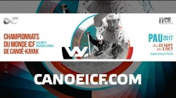 #ICFslalom 2017 Canoe World Championships Pau France - Fri Slalom SEMIS
