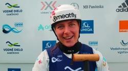 Czech wildwater paddler Marie Nemcova