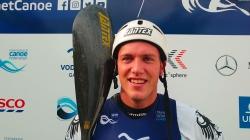 German K1 wildwater paddler Yannic Lemmen