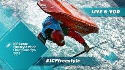2019 ICF Canoe Freestyle World Championships Sort / Semis Jnr K – Quarters Kw