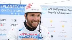 Marek Rygel CZE C1 Men Sprint Silver / 2018 ICF Wildwater Canoeing World Championships Muota