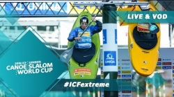 2019 ICF Canoe Slalom World Cup 1 London United Kingdom / Extreme