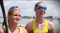 Alyssa Bull & Alyce Burnett / 2018 ICF Canoe Sprint & Paracanoe World Cup 1 Szeged