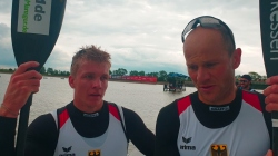 Max HOFF & Jacob SCHOPF Germany / K2 1000m Gold - 2021 ICF Canoe Sprint World Cup 1 Szeged
