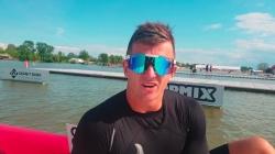 New Zealand paracanoe athlete Corbin Hart