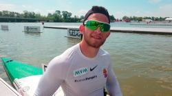 Hungarian paracanoe athlete Peter Pal Kiss