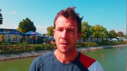 French canoe slalom paddler Boris Neveu