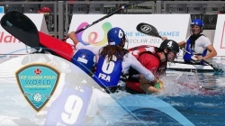 2018 ICF Canoe Polo World Championships Welland /Day 2/ Wednesday eve - Preliminary rounds - Pitch 3