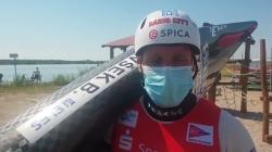 Benjamin SAVSEK Slovenia / Canoe Heats - 2021 ICF Canoe Slalom World Cup Markkleeberg