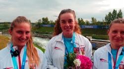 Czech women's wildwater k1 team