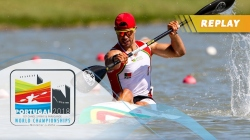 C2 Women 200m Final / 2018 ICF Canoe Sprint World Championships Montemor