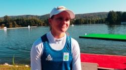 Ukraine C1 canoe world champion Liudmyla Babak