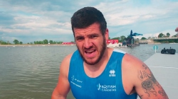 Great Britain paracanoe athlete David Phillipson