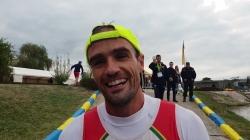 Portugal's canoe marathon short race world champion in K1 men, Jose Ramalho interview
