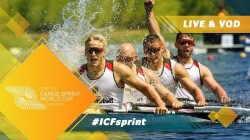 2019 ICF Canoe Sprint World Cup 2 Duisburg Germany / Day 1: Heats PT2