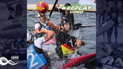 #TBT Germany v Great Britain Women's Final / 2018 ICF Canoe Polo World Championships Welland Canada