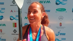 Russian SUP world champion Elena Prokhorova