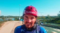 Czech wildwater world champion Ondrej Rolenc
