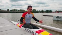 Spanish paracanoe athlete Adrian Mosquera