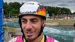 C1 Sideris Tasiadis GER C1 Gold / 2019 ICF Canoe Slalom World Cup 1 London United Kingdom