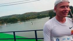 Hungarian canoe marathon paddler Daniel Laczo