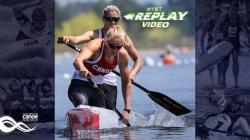 #TBTC2 Women 500m Vincent-Lapointe & Vincent / 2018 ICF Canoe Sprint World Championships Montemor