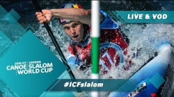 2019 ICF Canoe Slalom World Cup 1 London United Kingdom / Semis – C1w, K1m