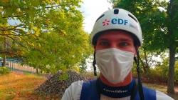 French wildwater paddler Etienne Klatt