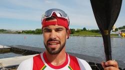 K1m 1000m semi-final Fernando Pimenta POR / 2019 ICF Canoe Sprint & Paracanoe World Cup 1