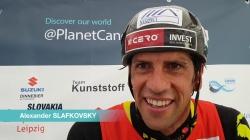 Alexander Slafkovsky SVK C1 Gold / 2019 ICF Canoe Slalom World Cup 4 Markkleeberg Germany