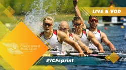 2019 ICF Canoe Sprint World Cup 2 Duisburg Germany / Day 3: Semis, B Finals