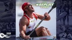 #TBT K1 Men 1000m Final Fernando Pimenta POR / 2018 ICF Canoe Sprint World Championships Montemor