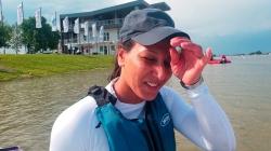 Italian paracanoe athlete Eleonora de Paolis