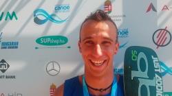 New Caledonian SUP world champion Noic Garioud