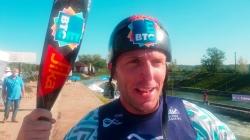 Slovenian wildwater world champion Nejc Znidarcic