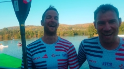 French K2 marathon world champions Jeremy Candy and Quentin Urban