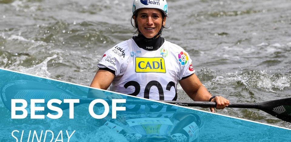 Best Of Sunday  - ICF Canoe Slalom World Cup 2 - La Seu 2016
