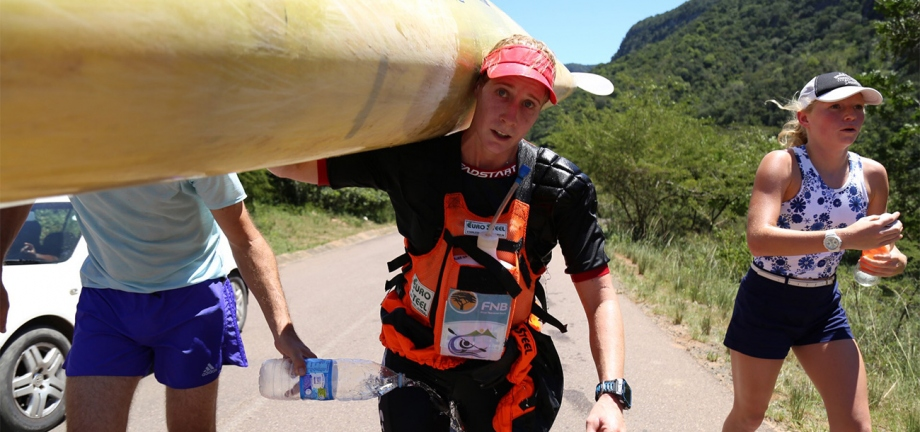 Abby Solms (RSA) Dusi Victory