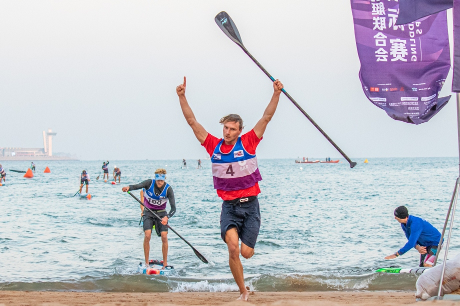 Australia Lincoln Dews SUP stand up paddle Qingdao 2019