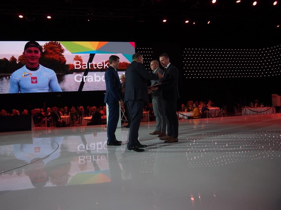 Poland Bartosz Grabowski Olympic Committee awards 2018