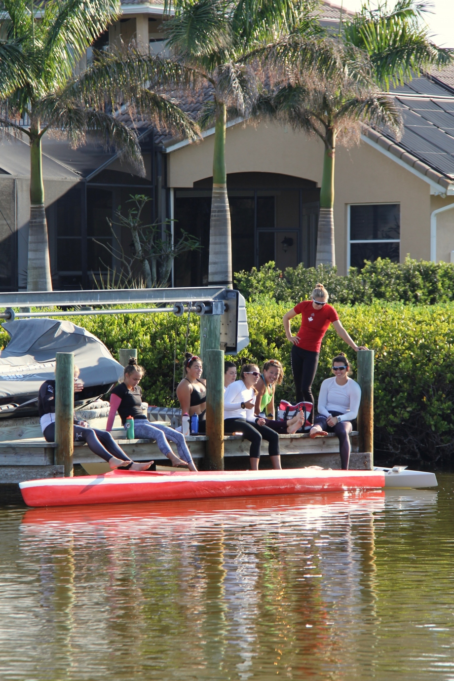 Canada canoe team Florida