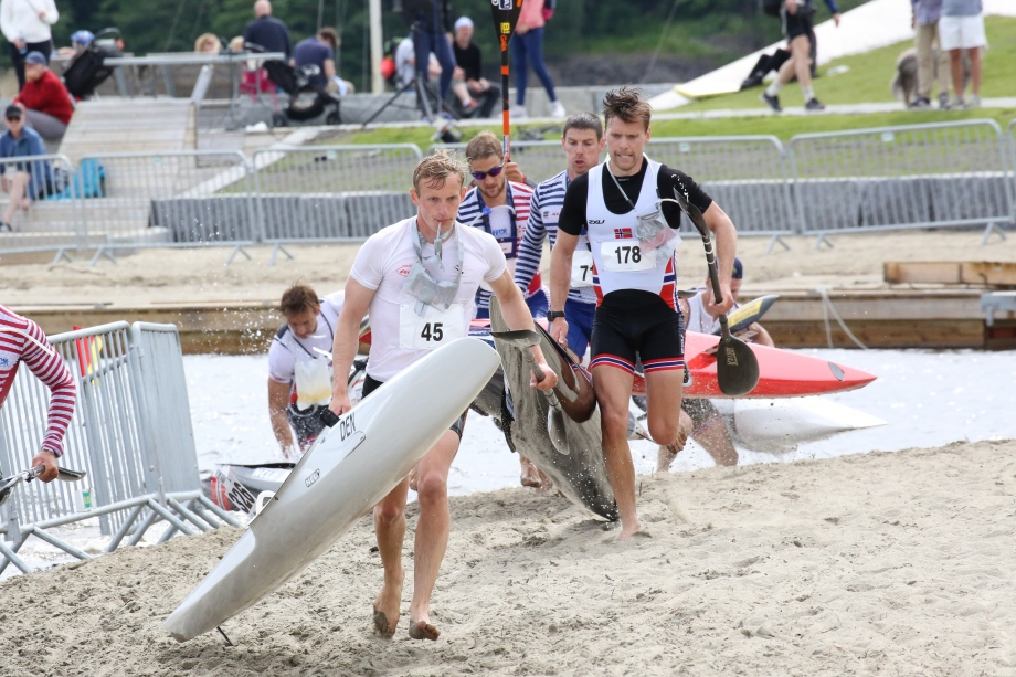 Canoe marathon world cup men Norway 2019