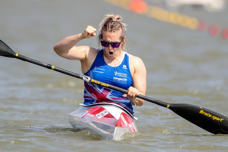 Great Britain Charlotte Henshaw Szeged 2019