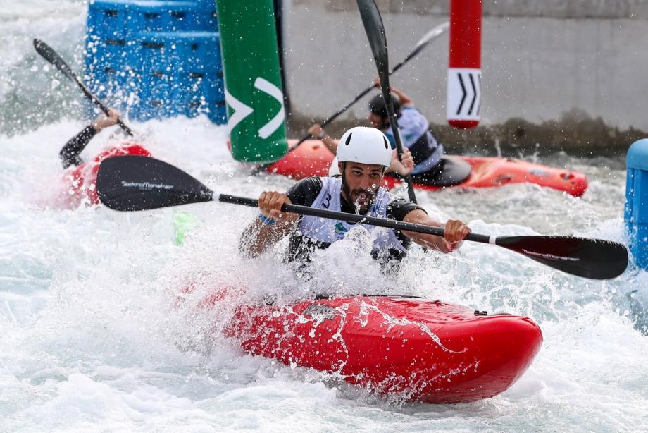 Italy Christian De Dionigo extreme slalom Rio 2018