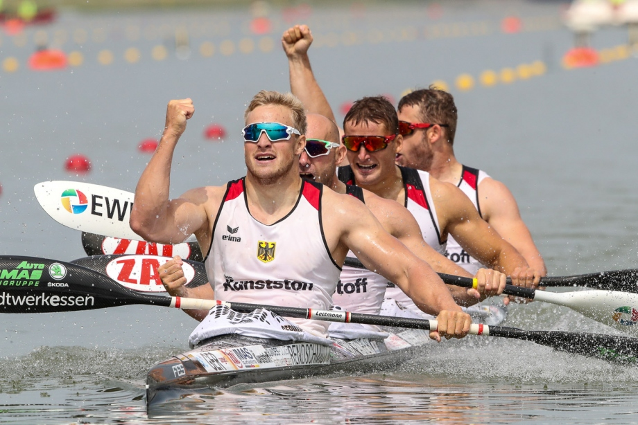 Germany men K4 Szeged 2019