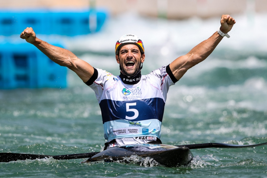 Germany Hannes Aigner K1 final Rio World Championships 2018